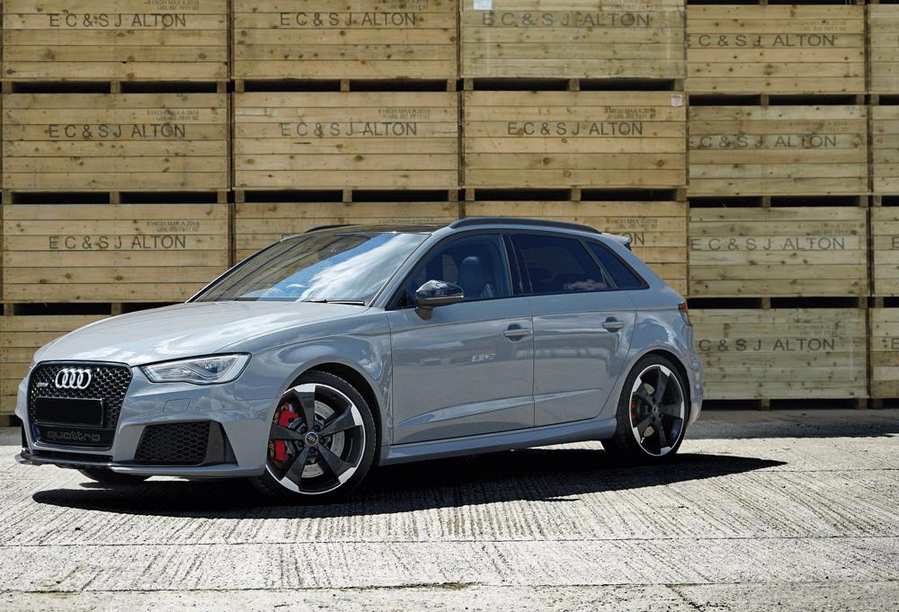 Representative example - Audi RS3