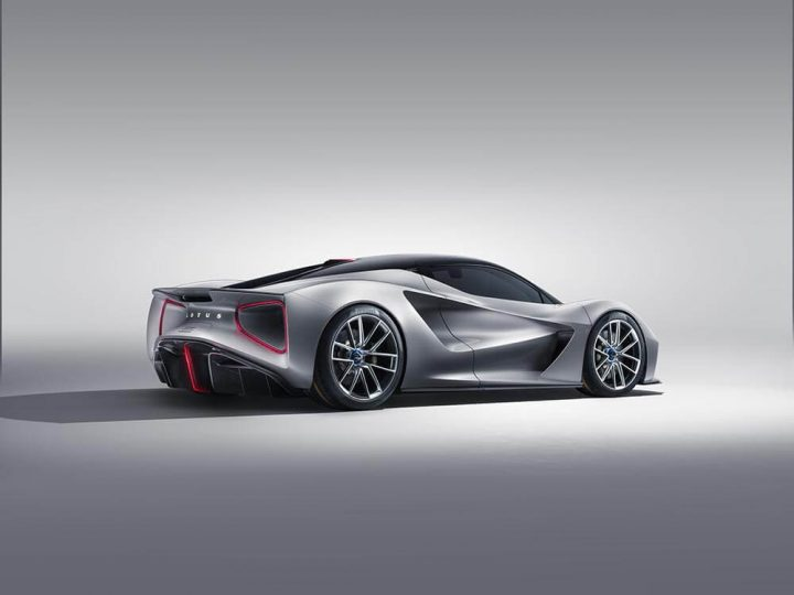 Lotus Evija electric hypercar revealed
