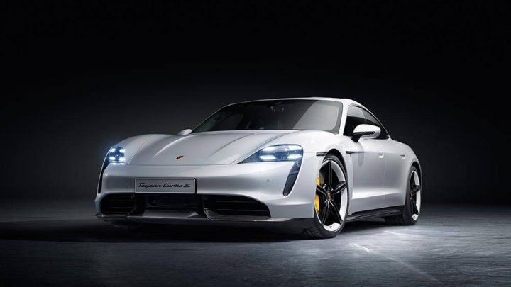 Porsche Taycan: first look