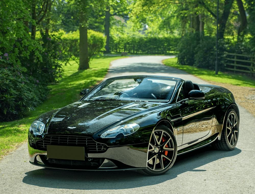 Representative example - Aston Martin Vantage