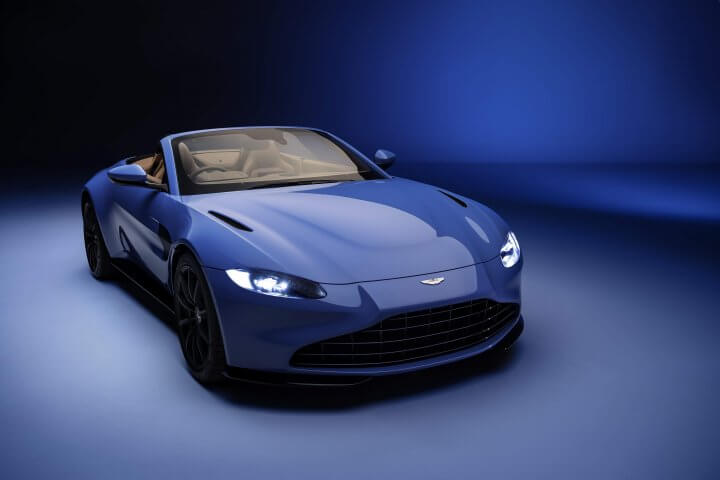 Aston Martin Vantage Roadster : First look