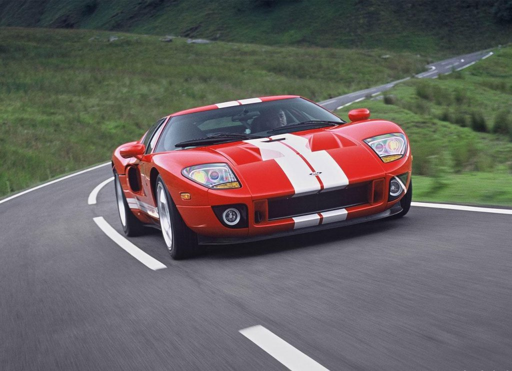 The 2004 Ford GT